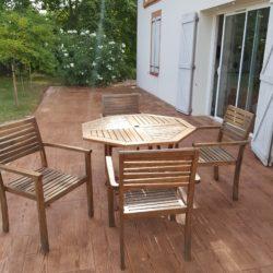 terrasse bois beton imprime