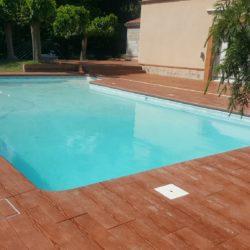 plage piscine beton imprime bois sans margelles