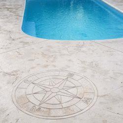 plage de piscine roche pierre
